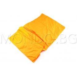 Чаршаф с ластик Ранфорс - Оранжев MONDO m6928