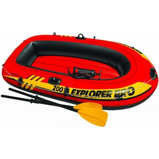 Надуваема лодка Explorer Pro 200 196х102х33см 58357NP Intex