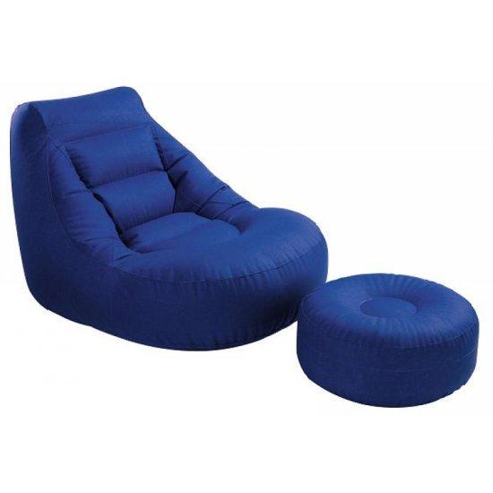 Надуваемо Кресло с табуретка 119х99х76см 68559 Intex