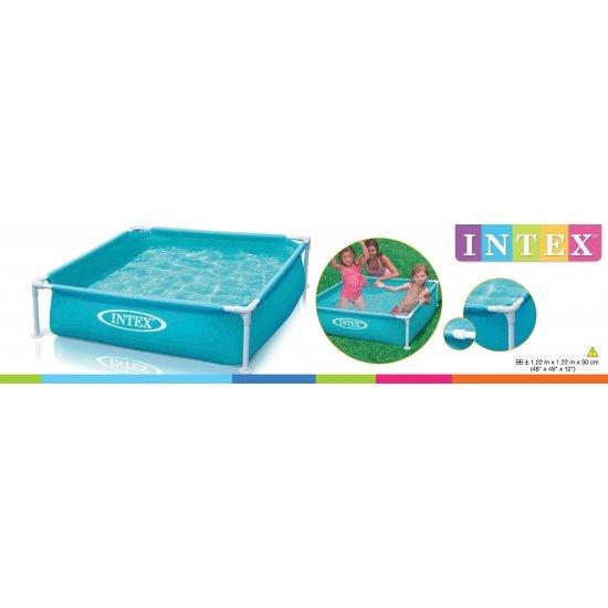 Детски сглобяем басейн 122x122x30см 57173NP Intex