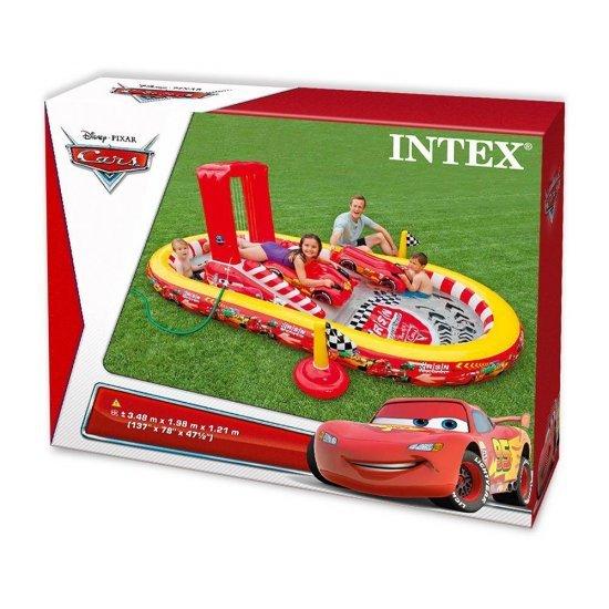 Надуваем център за игра с пързалка Колите 348x198x121см 57134NP Intex