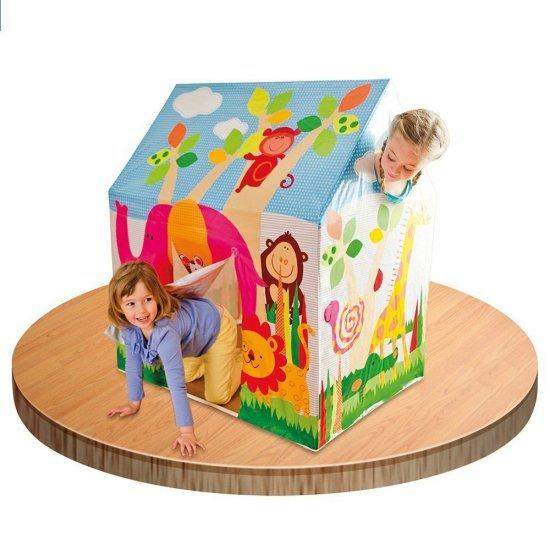 Детска палатка за игра Кралски замък / Джунгла INTEX Royal Castle / Junlge