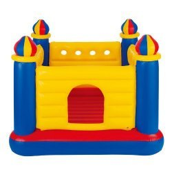 Детски надуваем батут Замък INTEX Jump-O-Lene