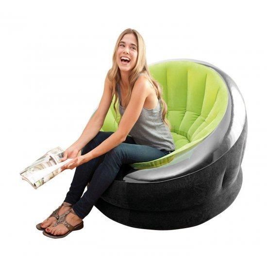 Надуваем ергономичен фотьойл INTEX Empire, асортимент