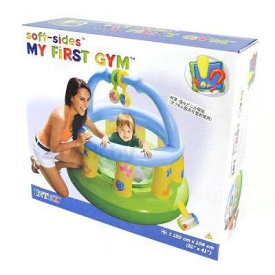 Надуваема бебешка кошарка Intex