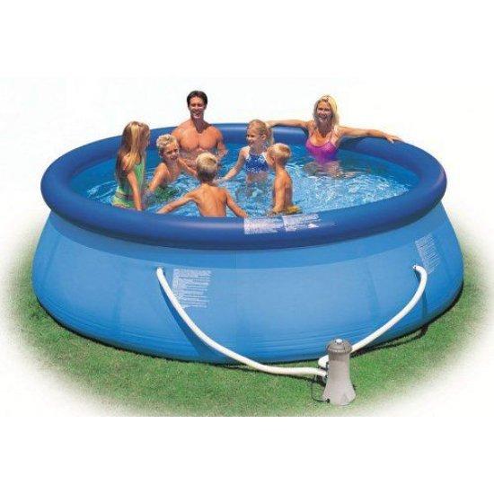 Надуваем семеен басейн Easy Set 366x76см 28132NP Intex
