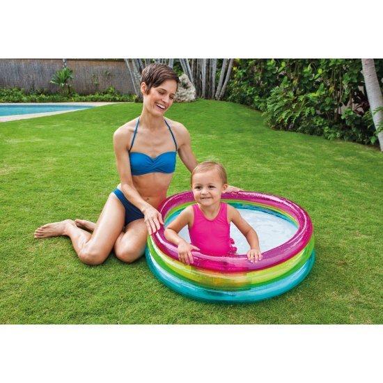 Детски надуваем басейн 86x25см 57104NP Intex
