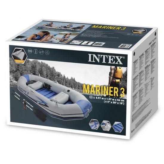 Надуваема лодка Mariner 3 комплект 297x127x46см 68373NP Intex
