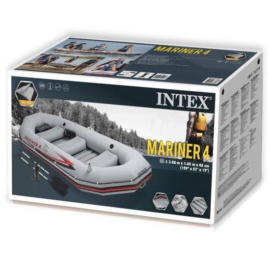 Надуваема лодка Mariner 4 комплект 328x145x48см 68376NP Intex