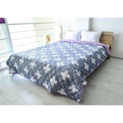 Покривало за легло микрофибър щампа Орнела 150/210