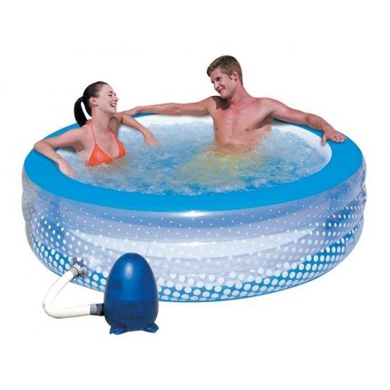 Надуваем СПА басейн тип джакузи 195x53см 51109 Bestway