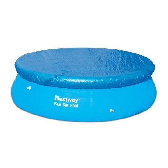 Покривало кръгъл басейн с надуваем борд 305см 58033 Bestway