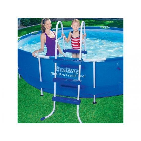 Стълба за басейн 91cм 58393 Bestway
