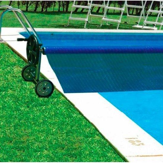 Ролка за навиване на покривало за вкопани басейни с максимална ширина 5.5м Gre 90171