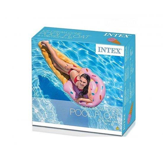 Надуваем дюшек сладолед 178х81см 58757EU Intex