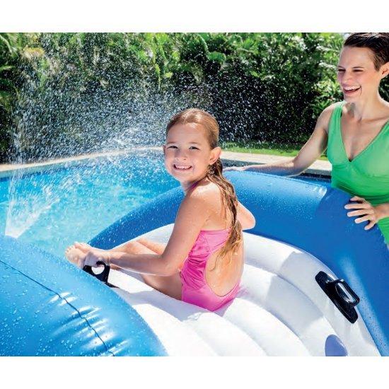 Надуваема водна пързалка 333х206х117см 58849NP Intex