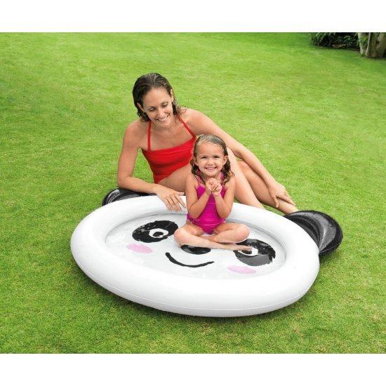 Надуваем детски басейн панда 117Х89Х14см 59460NP Intex