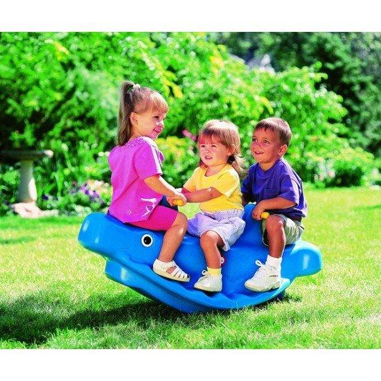 Люлка за 2 деца Little Tikes - синя