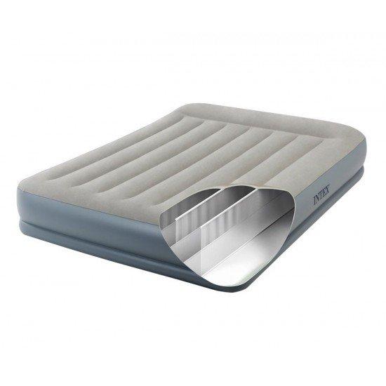 Надуваем матрак с вградена помпа INTEX Pillow Rest Queen