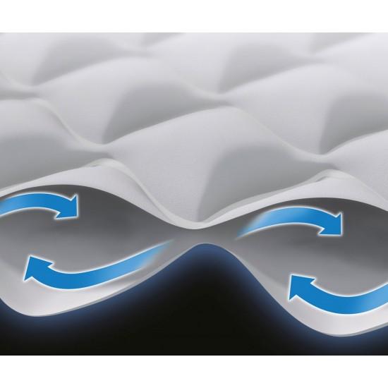 Надуваем матрак с вградена помпа INTEX Twin Supreme Air-Flow