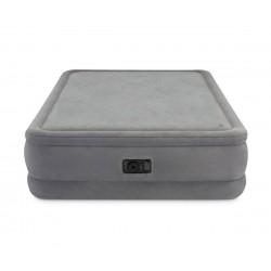 Надуваем матрак с вградена помпа INTEX Queen Foam Top