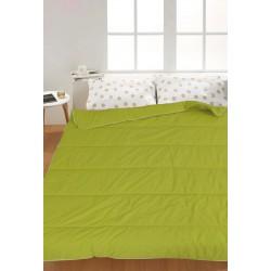 Олекотена завивка ранфорс дв. вата 150/210 - Зелен