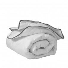 Олекотена завивка микрофибър ед. вата с карбонова нишка 150/210 - бял