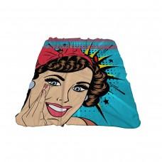 Одеяло Фланел 3D принт 150/200 - Комикс