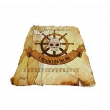 Одеяло Фланел 3D принт 150/200 - Пирати