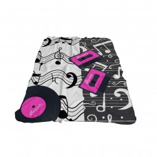 Одеяло Фланел 3D принт 150/200 - Музика