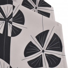 Покривка за маса Поликанава печат 100/150 - Черно Бели Кръгове