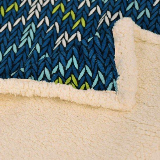 Одеяло DF печат 120/150 - Коледна Плетка