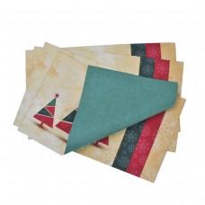 Комплект подложки Тринити печат 28/50 - Коледни Борчета 4бр.