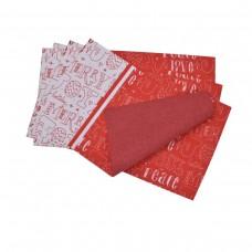 Комплект подложки Тринити печат 28/50 - Коледни Букви 4бр.