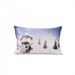Декоративна възглавница FLEECE печат 30/50 - Снежно Сияние