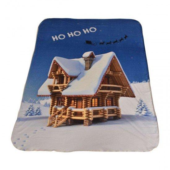 Одеяло DF печат 150/200 - Бяла Коледа