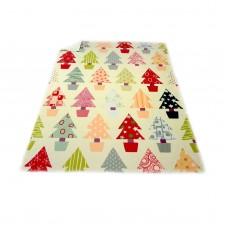 Одеяло Полар печат 130/170 - Коледна Гора