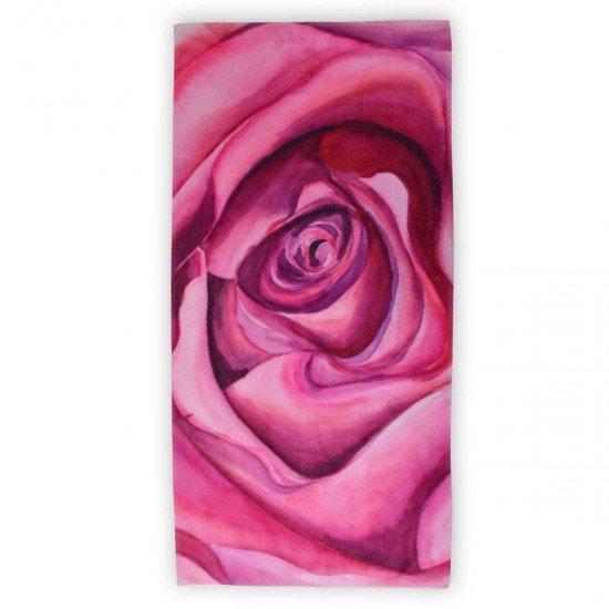 Хавлиена кърпа DF печат 70/140 - Роза