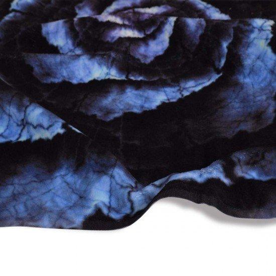 Хавлиена кърпа DF печат 70/140 - Черна Роза