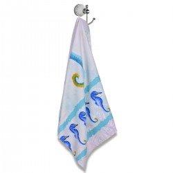 Хавлиена кърпа DF печат 100/170 - Морски Кончета
