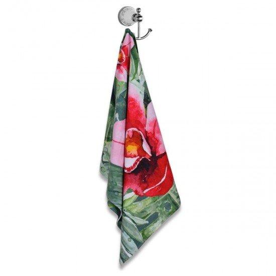 Хавлиена кърпа DF печат 70/140 - Цветя