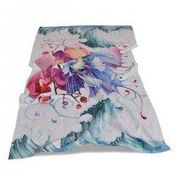 Хавлиена кърпа DF печат 100/170 - Арт Риба