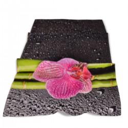 Хавлиена кърпа DF печат 70/140 - Орхидея