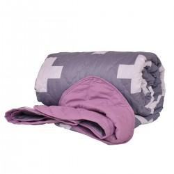 Покривало за легло микрофибър щампа Орнела 210/240