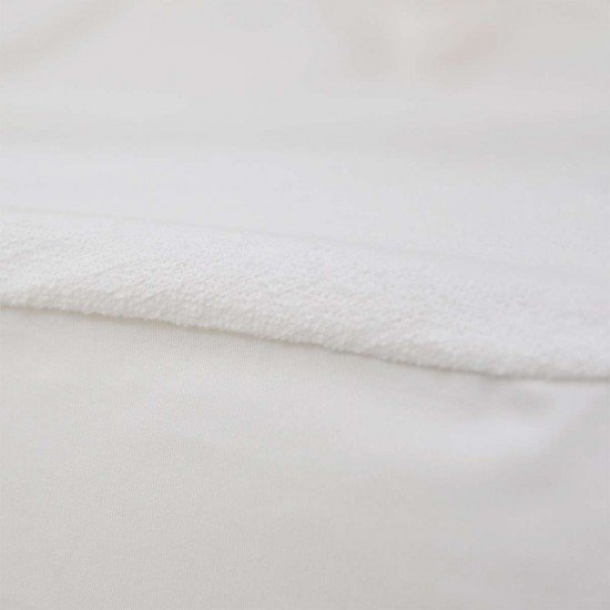 Водонепромокаем протектор за матрак с ластик 180/200/25 - Бял