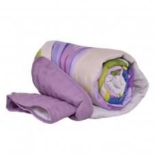 Покривало за легло микрофибър печат Минзухари 140/210