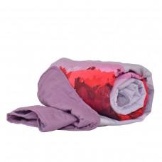 Покривало за легло микрофибър печат Устни 140/210