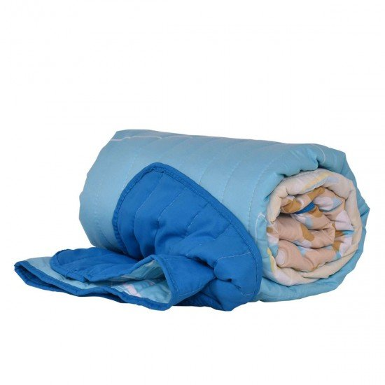 Покривало за легло микрофибър печат Слънчоглед 140/210