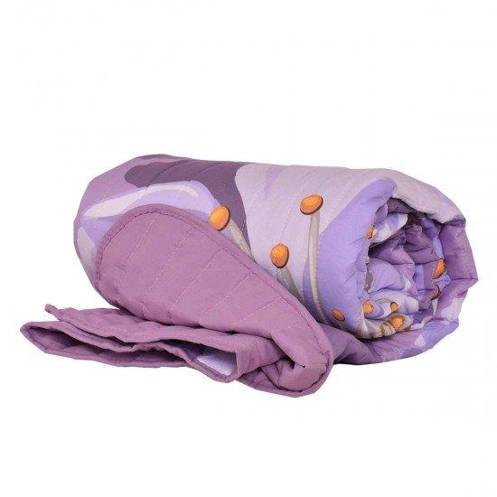 Покривало за легло микрофибър печат Клонка 140/210