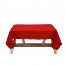 Покривка за маса Тринити 150/150 - Червен